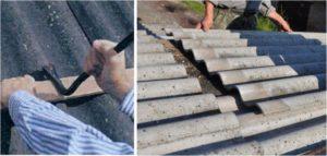 Ремонт шифера: чем заделать дырки и трещины - несколько доступных способов