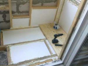 Утепление лоджии и балкона изнутри - пошаговая инструкция   видео!